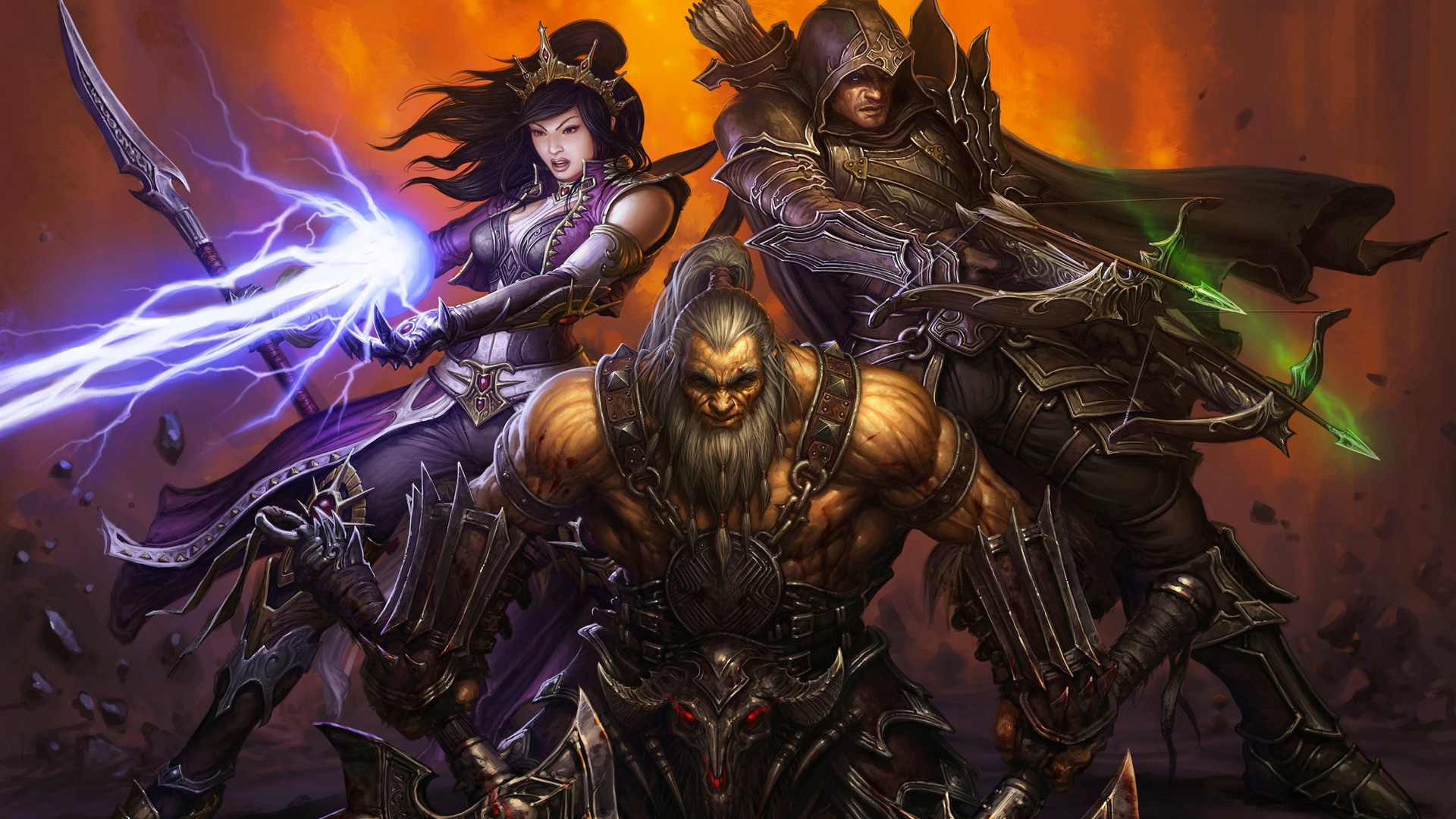 Free Diablo III Wallpaper in 1920x1080