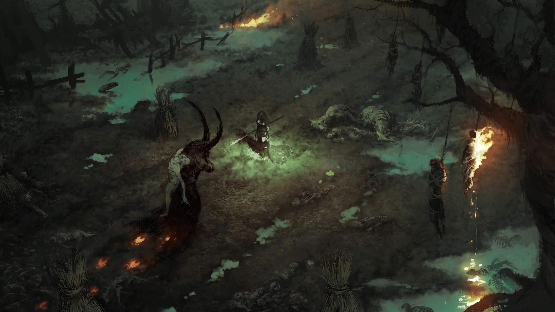 Free Diablo IV Wallpaper in 1920x1080