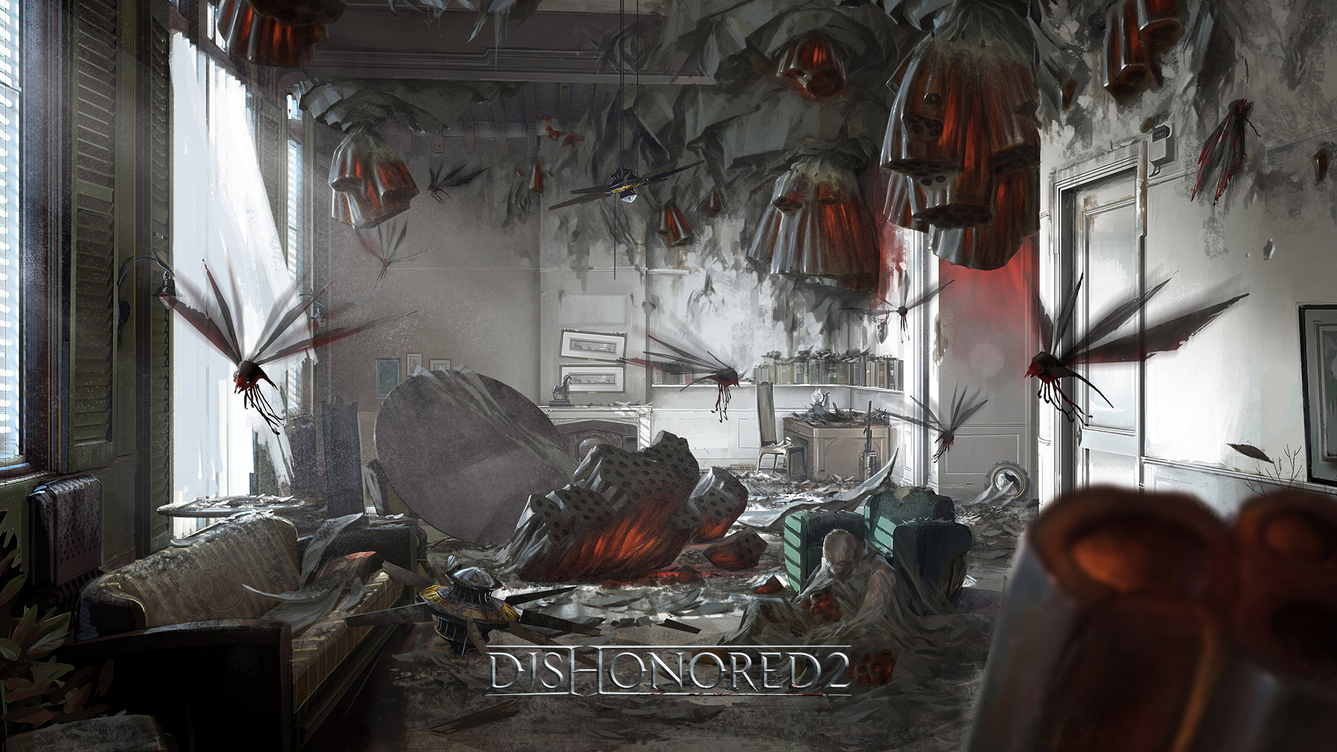 Dishonored 2 Wallpaper in 1920x1080