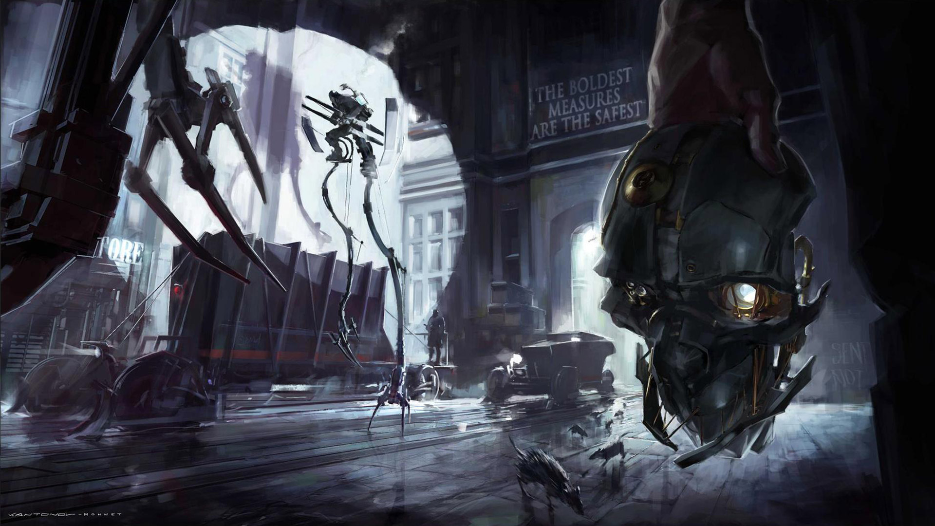 Free Dishonored Wallpaper in 1920x1080