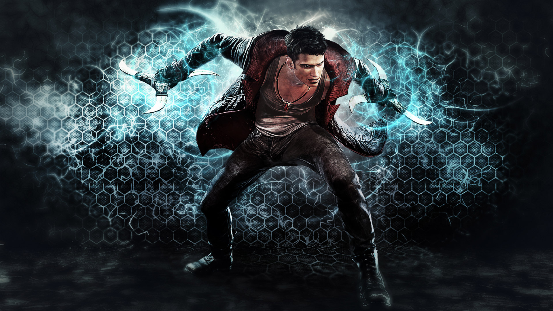 Free DmC: Devil May Cry Wallpaper in 1920x1080