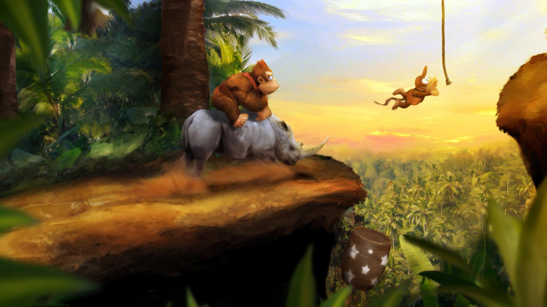 Free Donkey Kong Country Wallpaper in 1920x1080