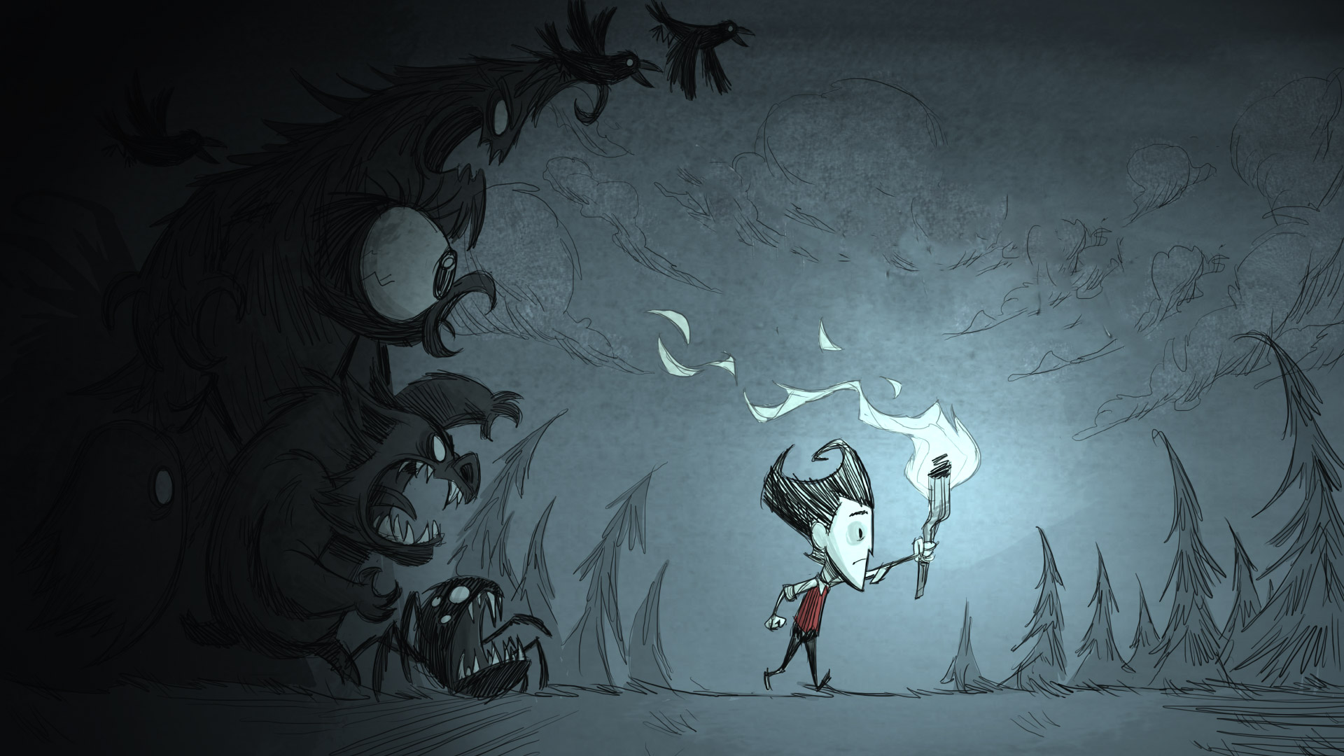 Free Don't Starve Wallpaper in 1920x1080