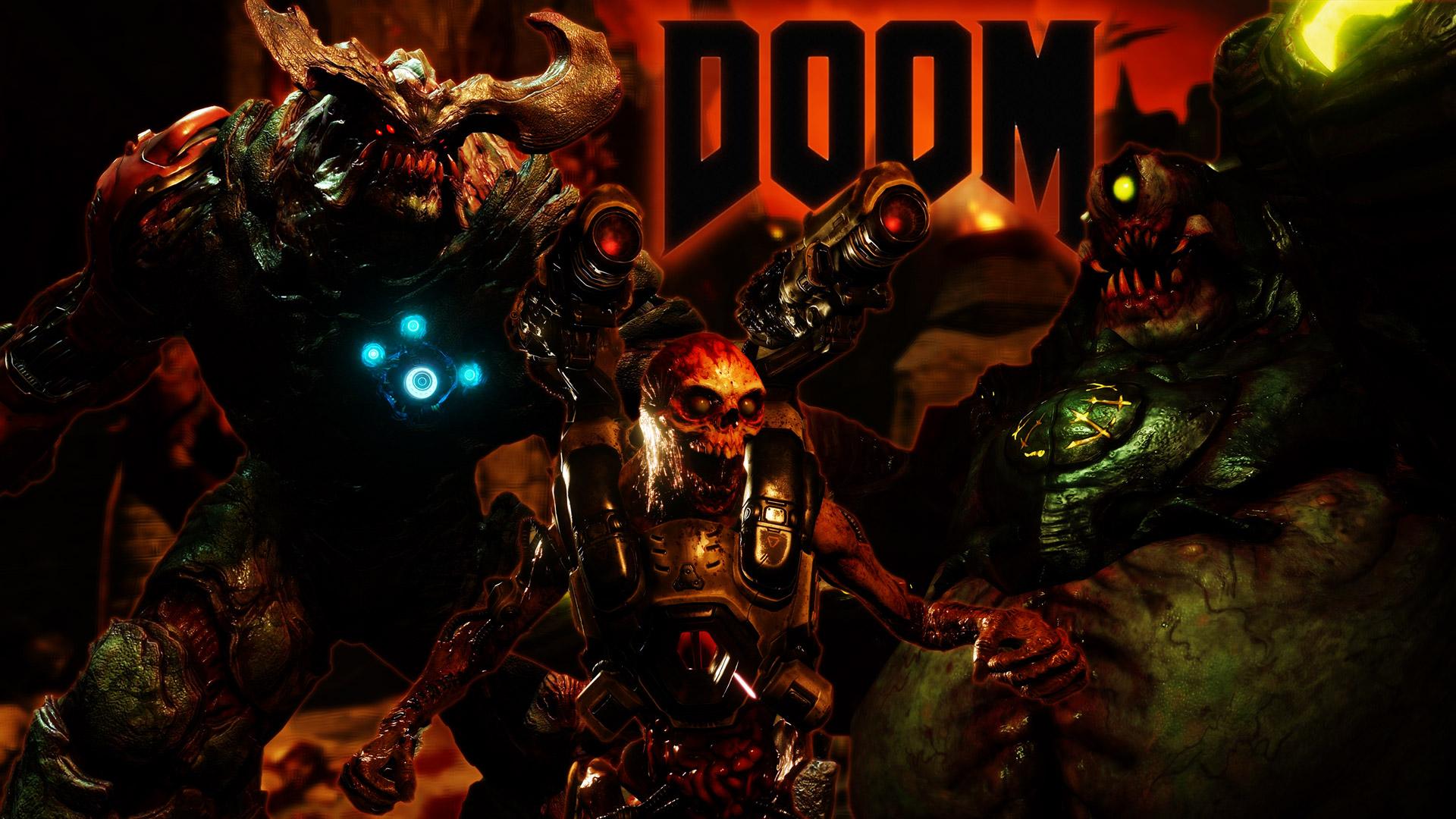 Free Doom (2016) Wallpaper in 1920x1080