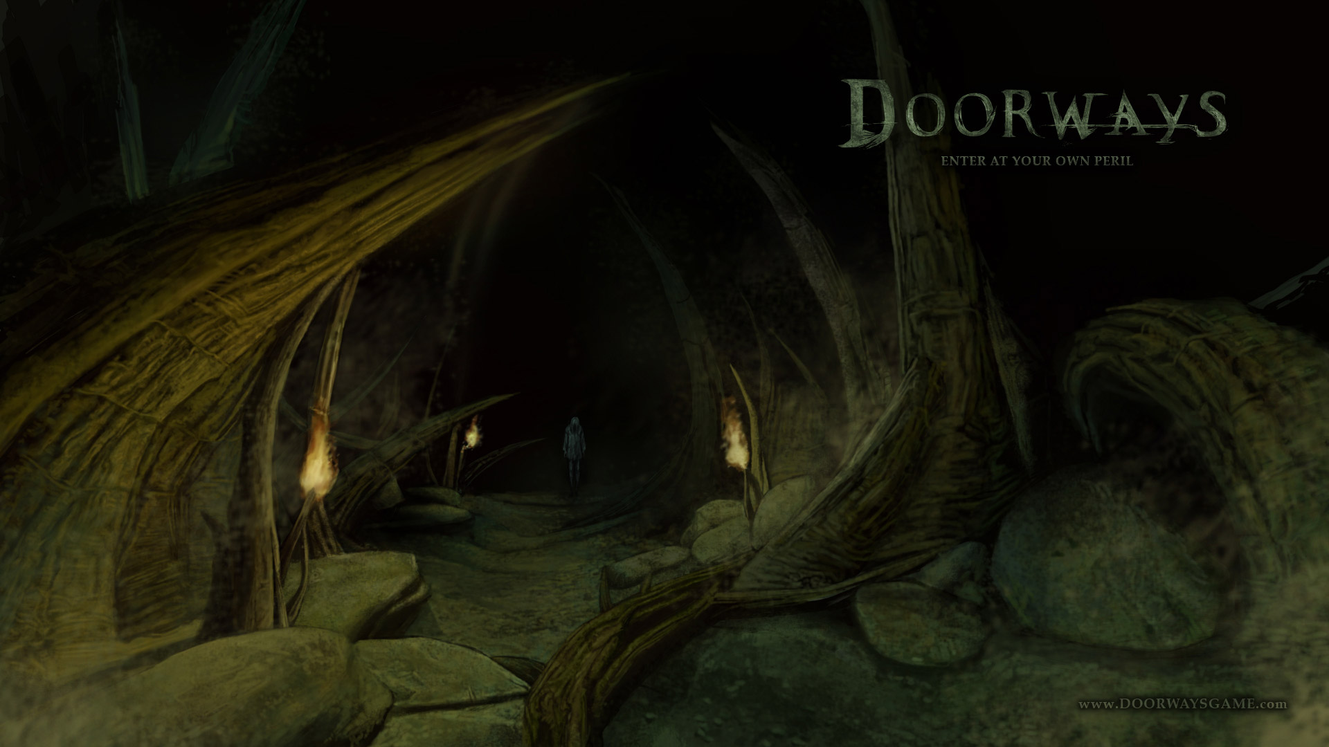 Free Doorways: The Underworld Wallpaper in 1920x1080