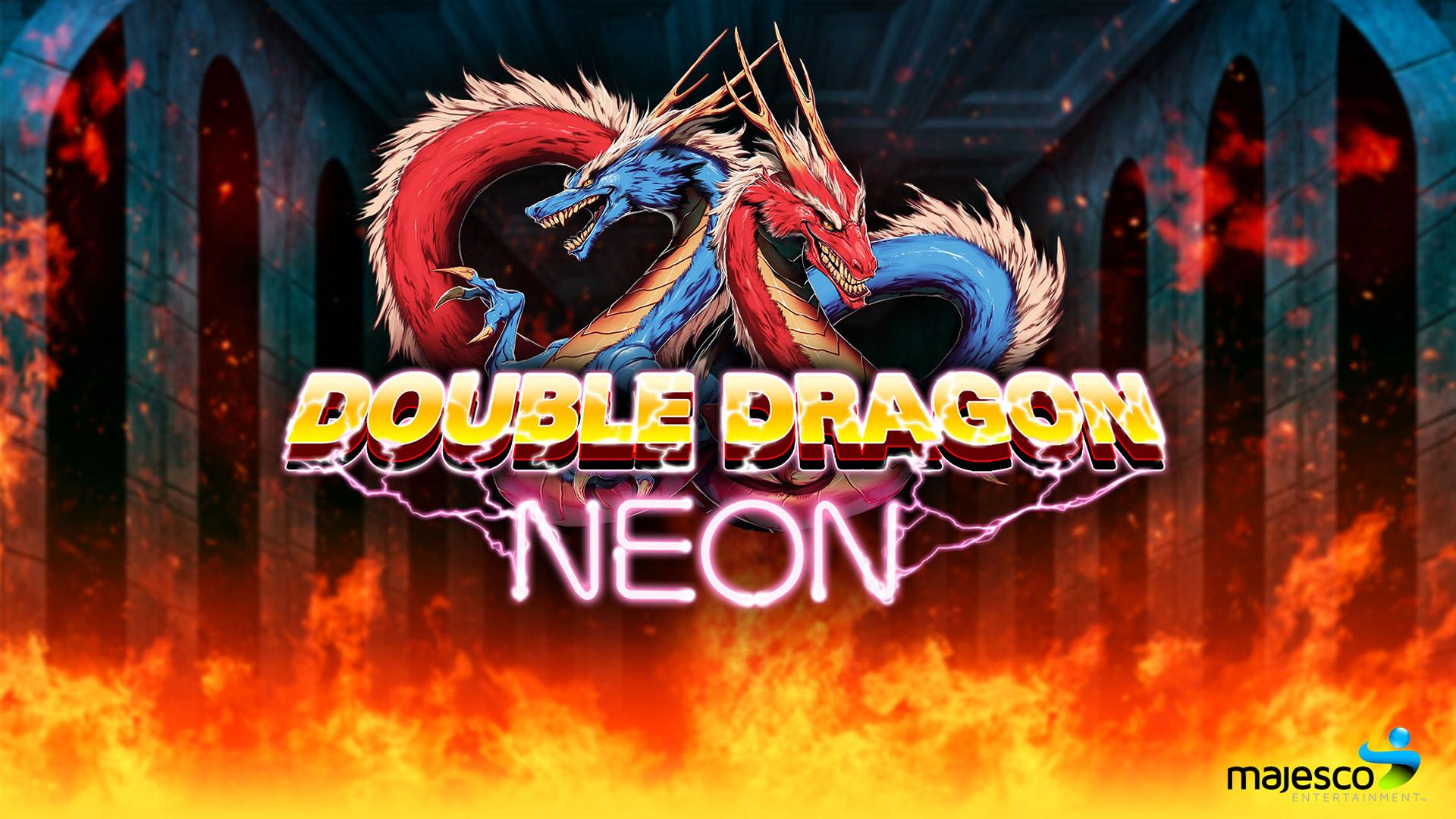 Free Double Dragon Neon Wallpaper in 1920x1080