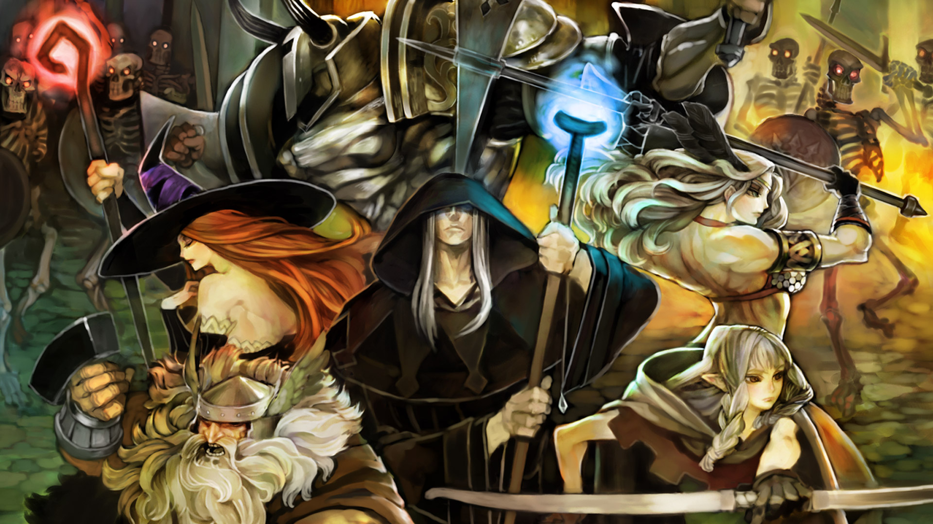 Free Dragon's Crown Wallpaper in 1920x1080