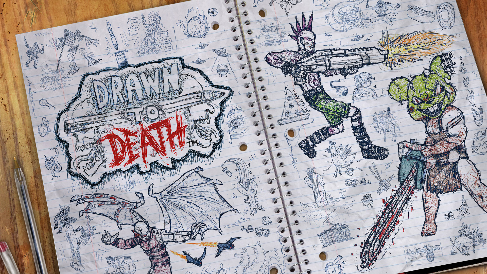 Free Drawn to Death Wallpaper in 1920x1080