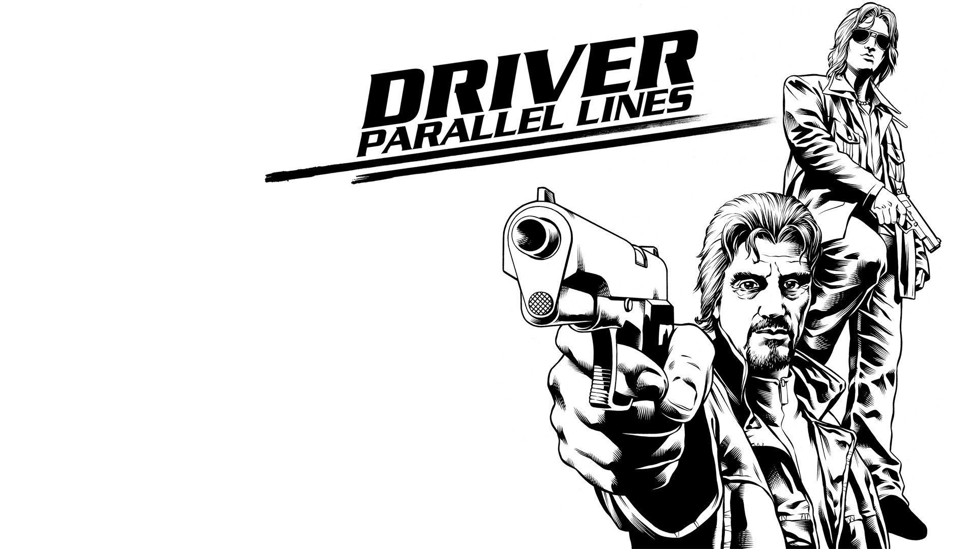 Driver: Parallel Lines Wallpaper in 1920x1080