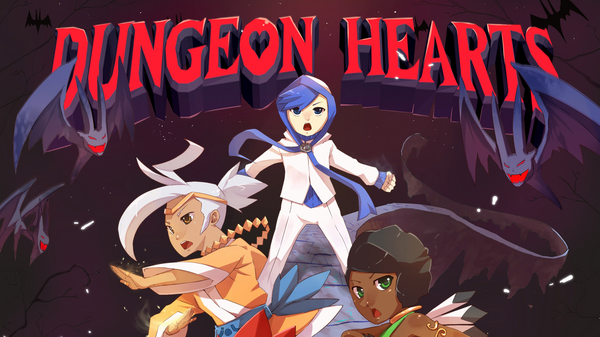 Free Dungeon Hearts Wallpaper in 1920x1080