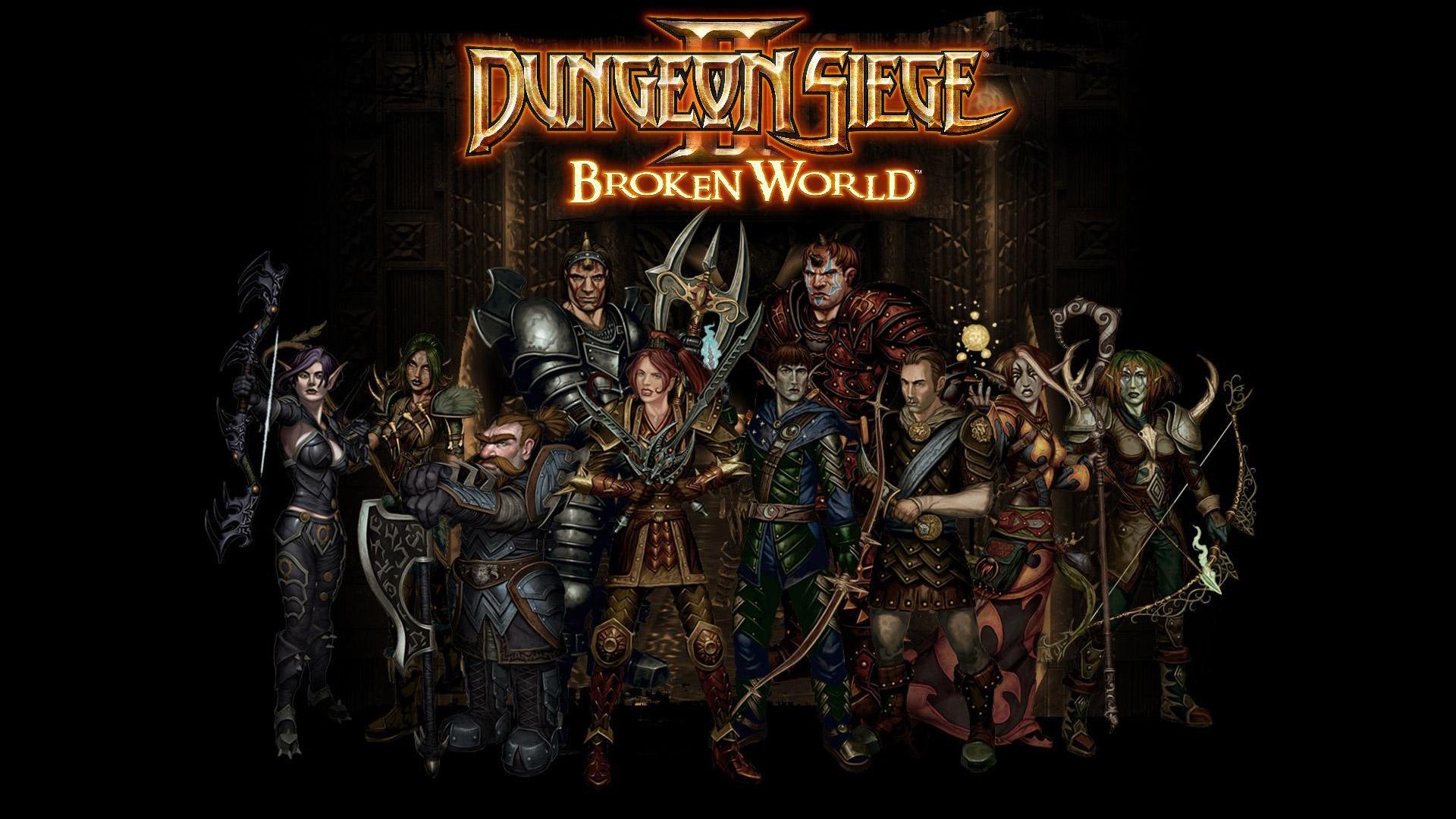 Free Dungeon Siege II Wallpaper in 1920x1080