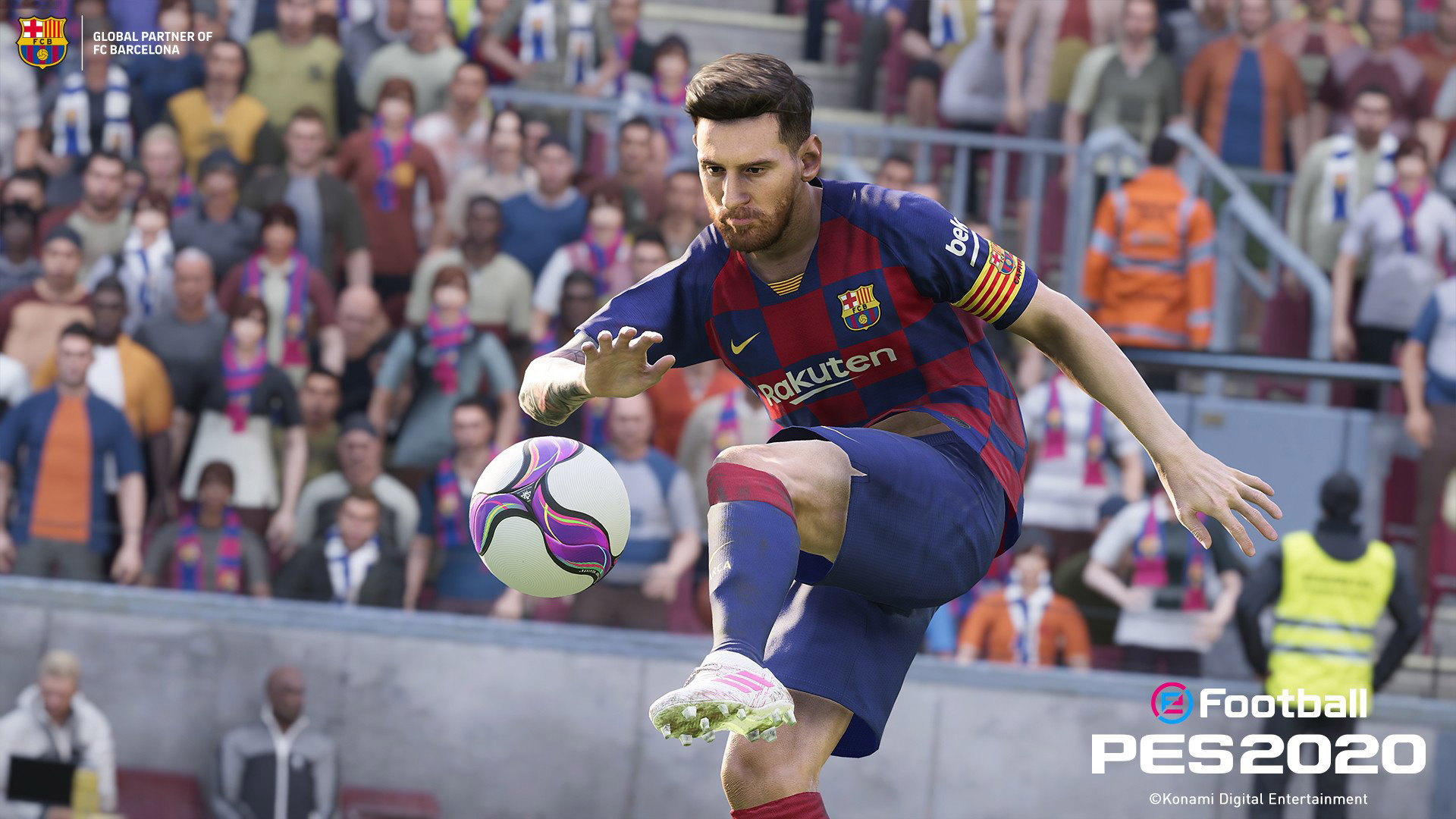 eFootball PES 2020 Wallpaper in 1920x1080