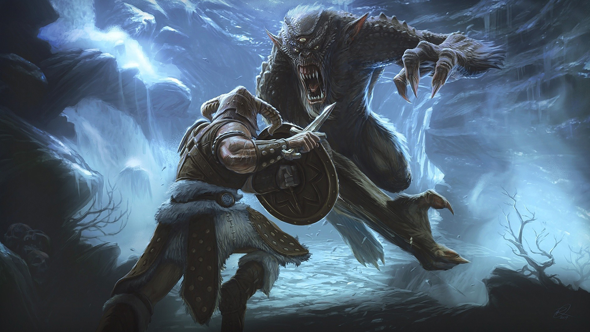 The Elder Scrolls V: Skyrim Wallpaper in 1920x1080