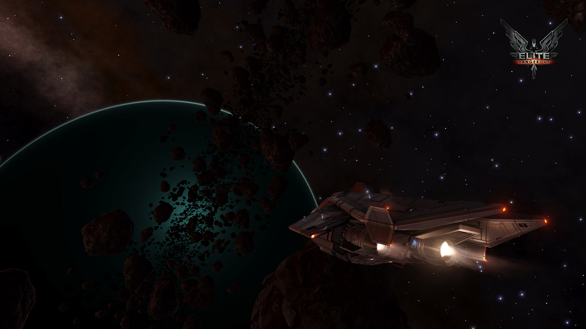 Free Elite: Dangerous Wallpaper in 1920x1080