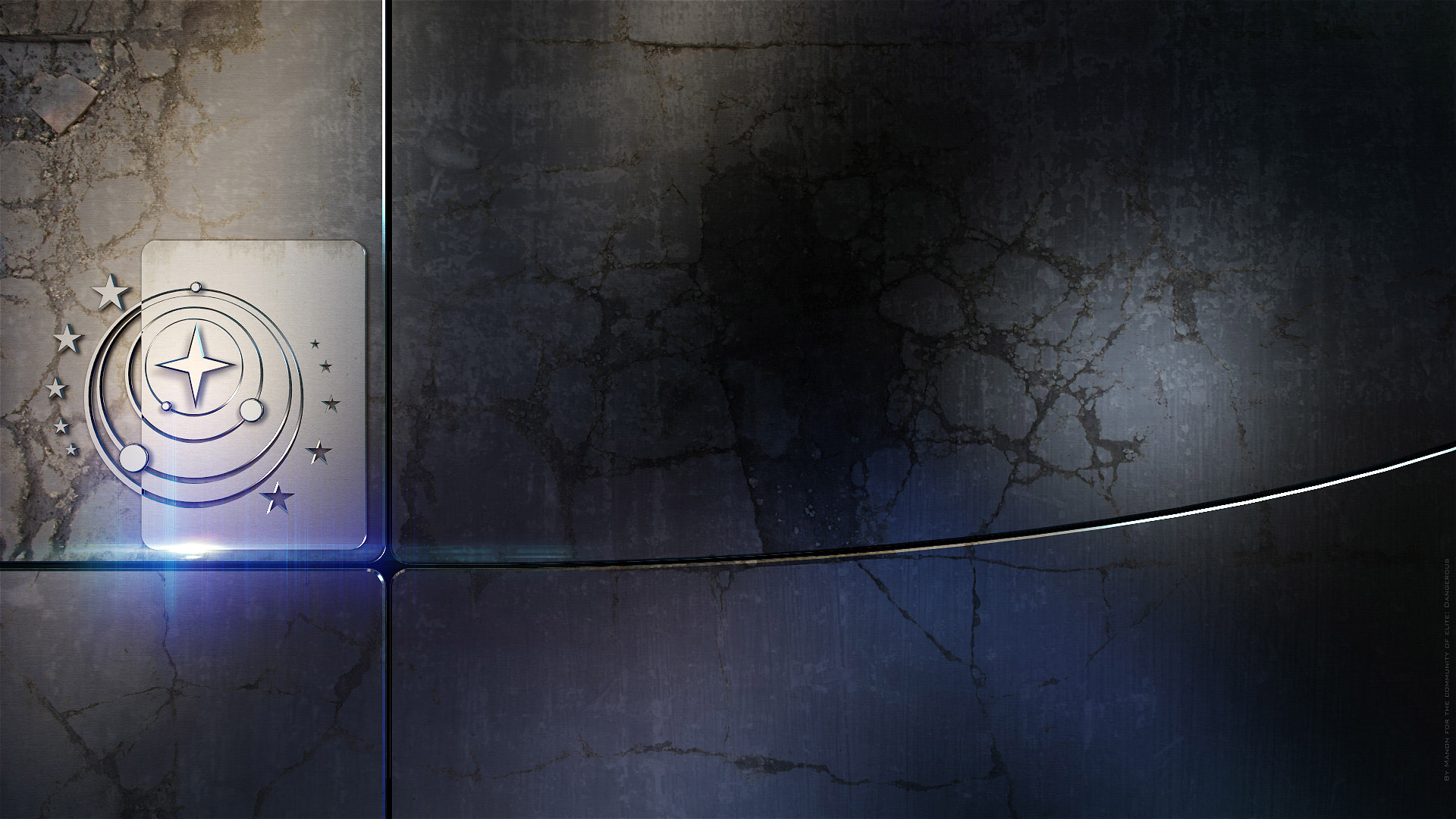 Free Elite: Dangerous Wallpaper in 1920x1080