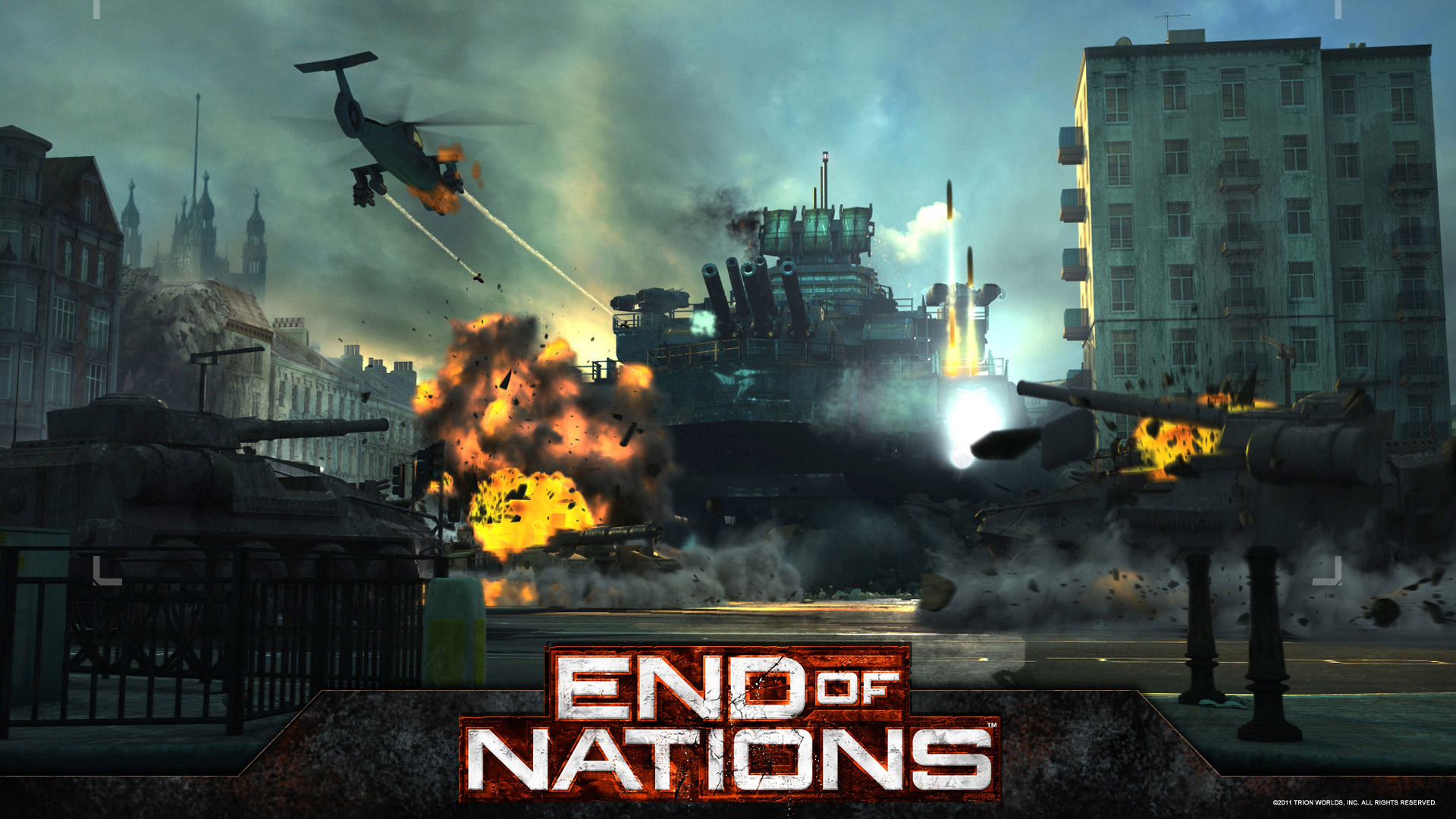 Free End of Nations Wallpaper in 1920x1080