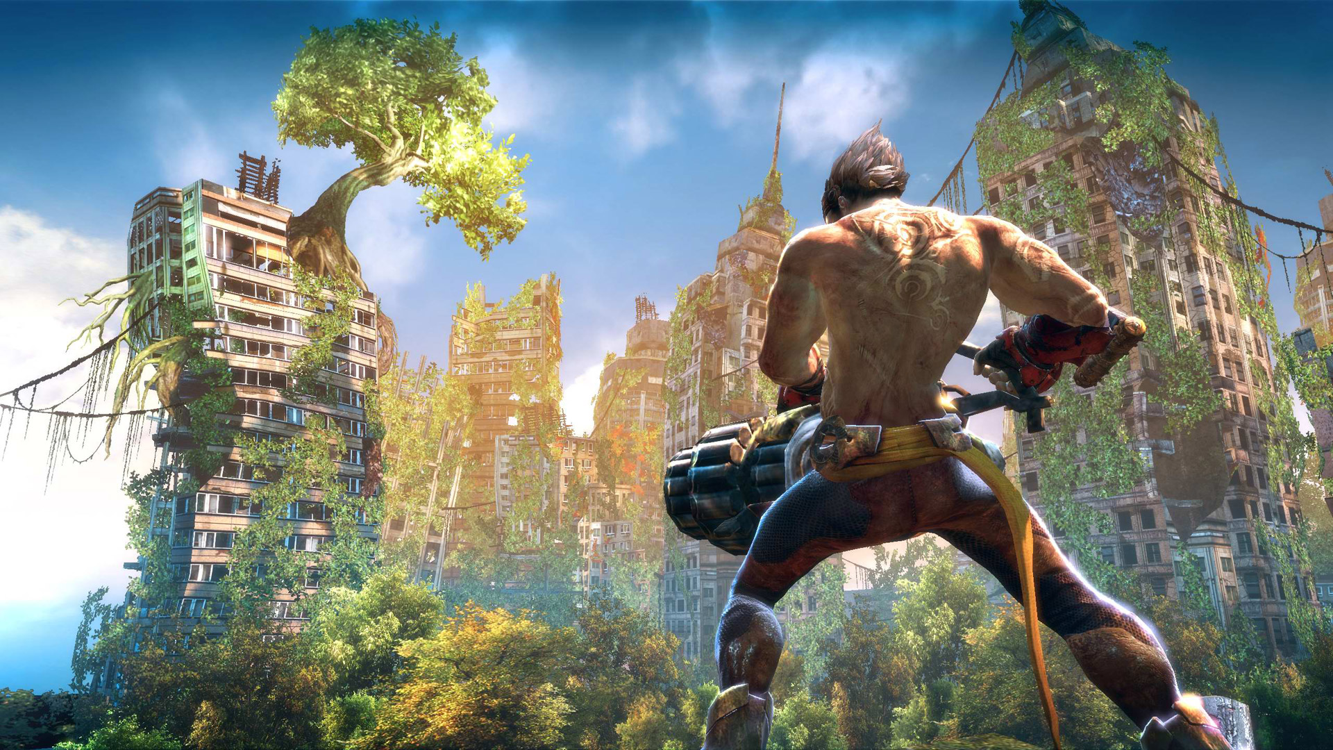 Free Enslaved: Odyssey to the West Wallpaper in 1920x1080