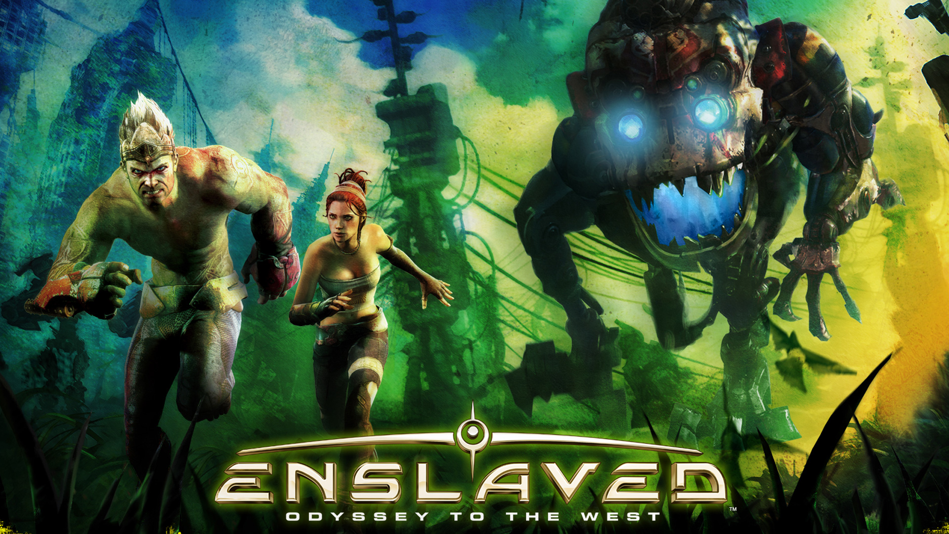 Enslaved: Odyssey to the West Wallpaper in 1920x1080