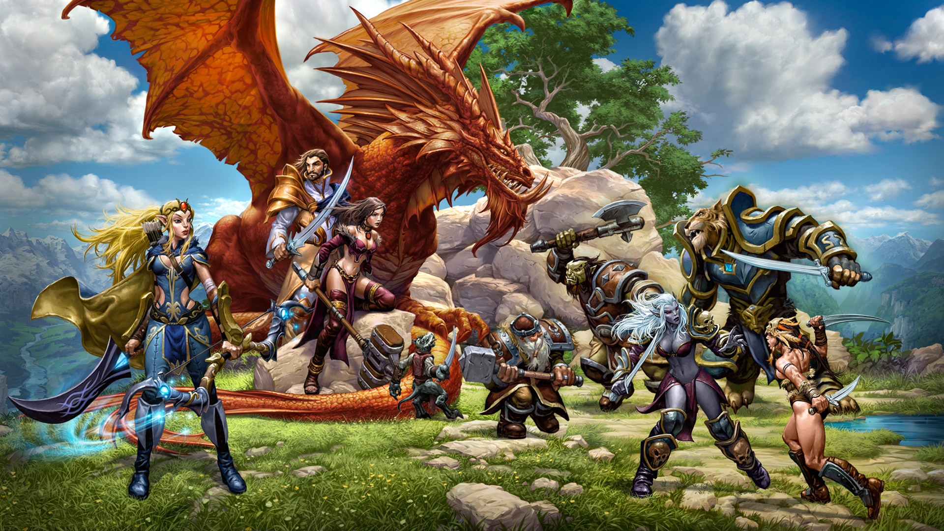Free Everquest Next Wallpaper in 1920x1080