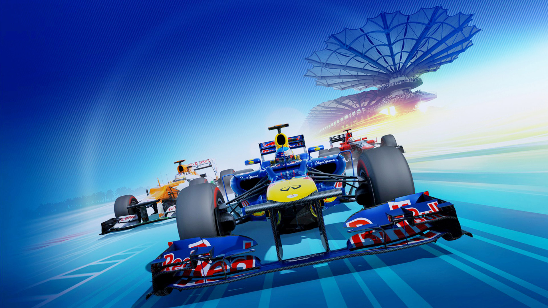 Free F1 2012 Wallpaper in 1920x1080