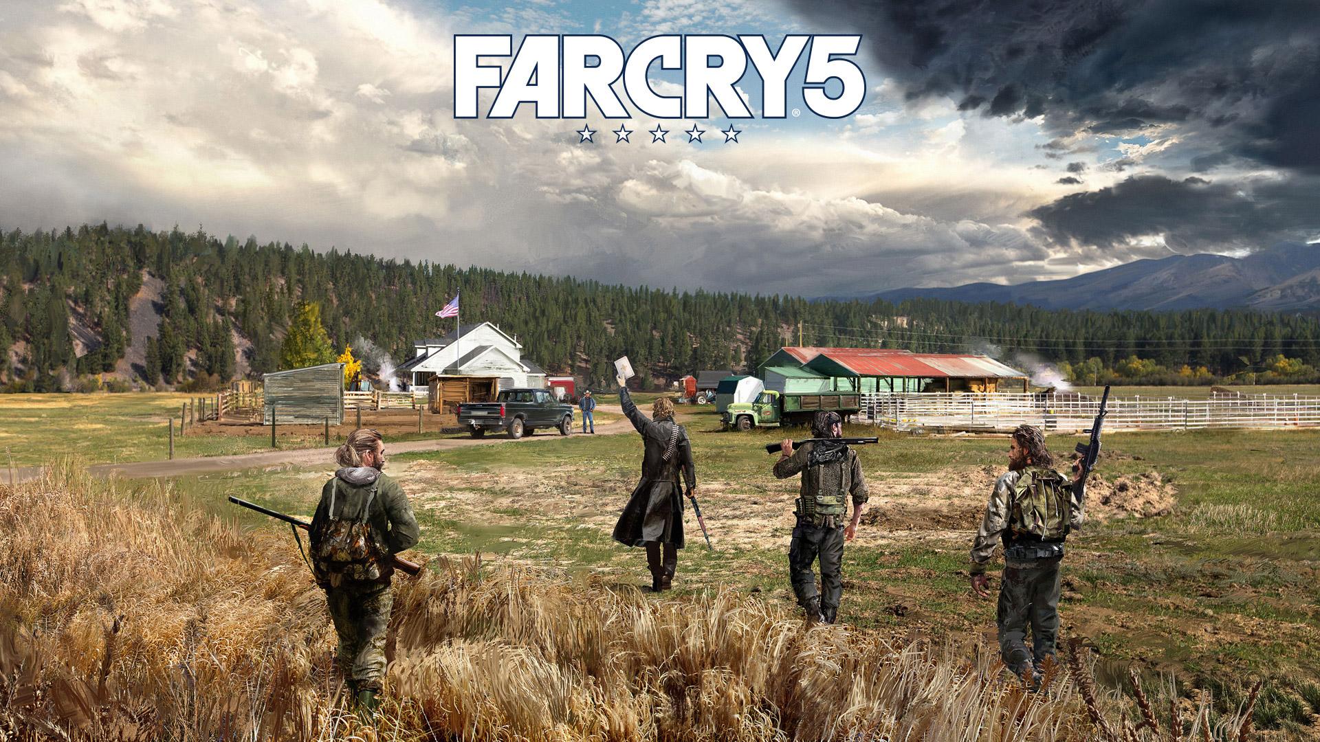 Free Far Cry 5 Wallpaper in 1920x1080
