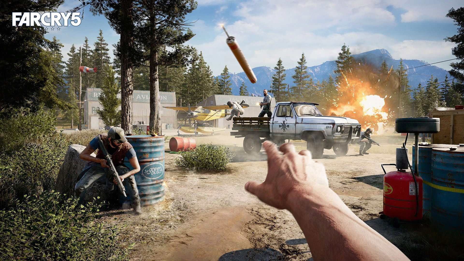 Free Far Cry 5 Wallpaper in 1920x1080