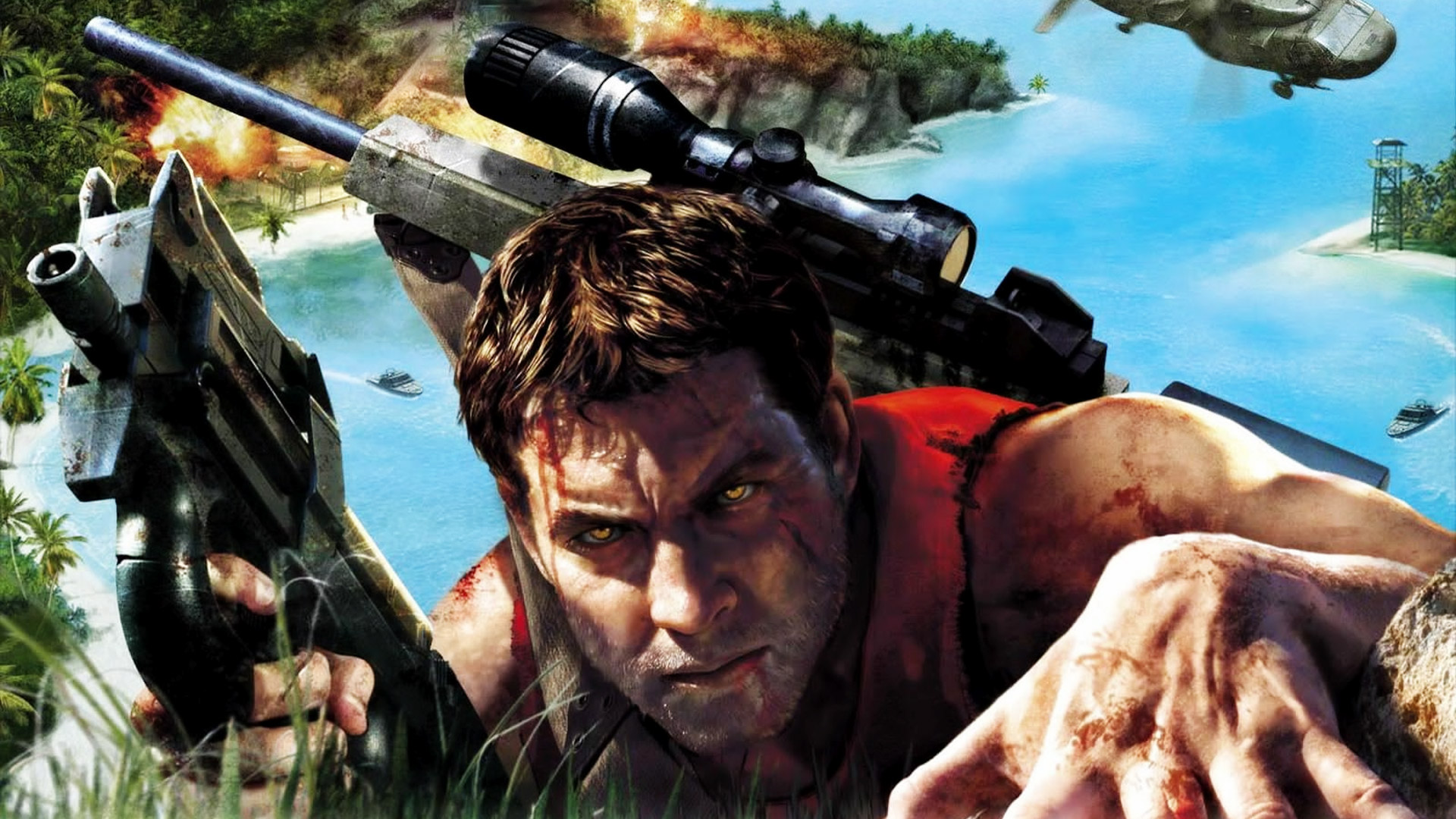 Far Cry Instincts Wallpaper in 1920x1080