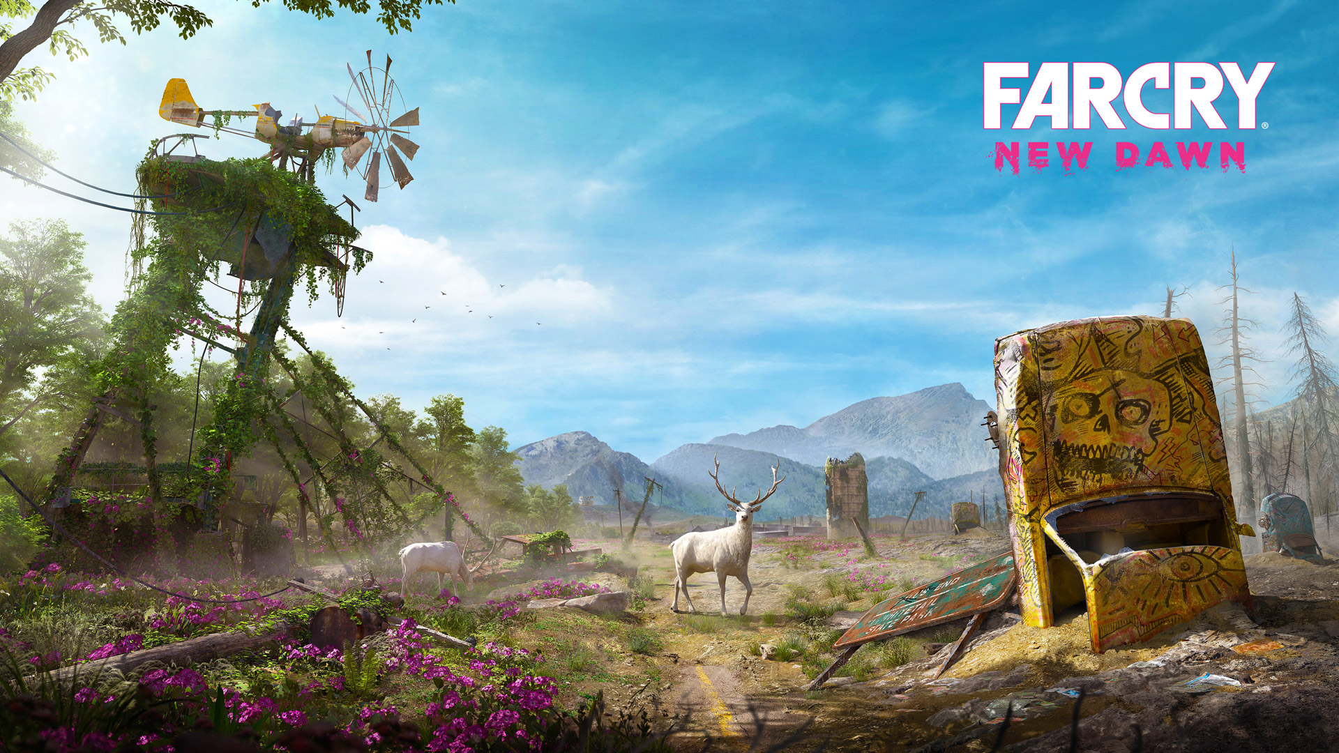 Free Far Cry: New Dawn Wallpaper in 1920x1080