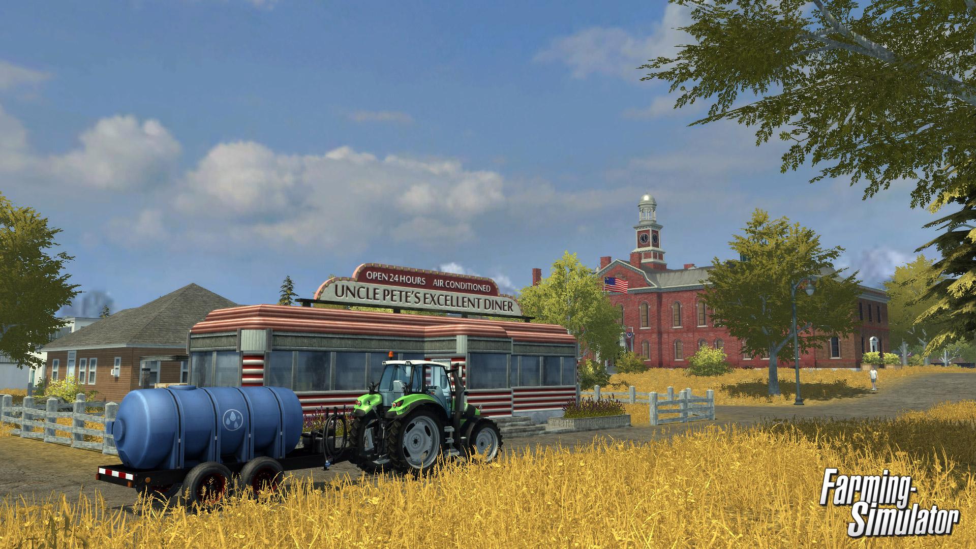 Farming Simulator Wallpaper in 1920x1080