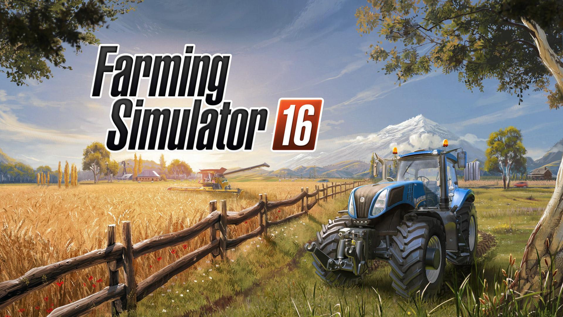 Free Farming Simulator 16 Wallpaper in 1920x1080