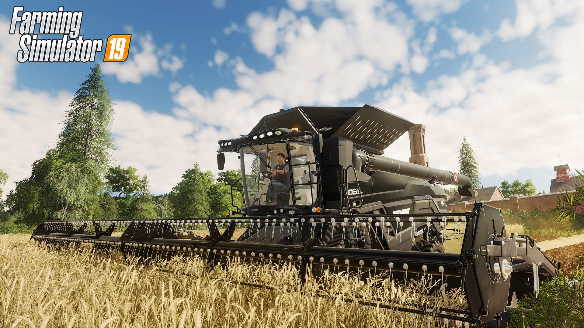 Free Farming Simulator 19 Wallpaper in 1920x1080