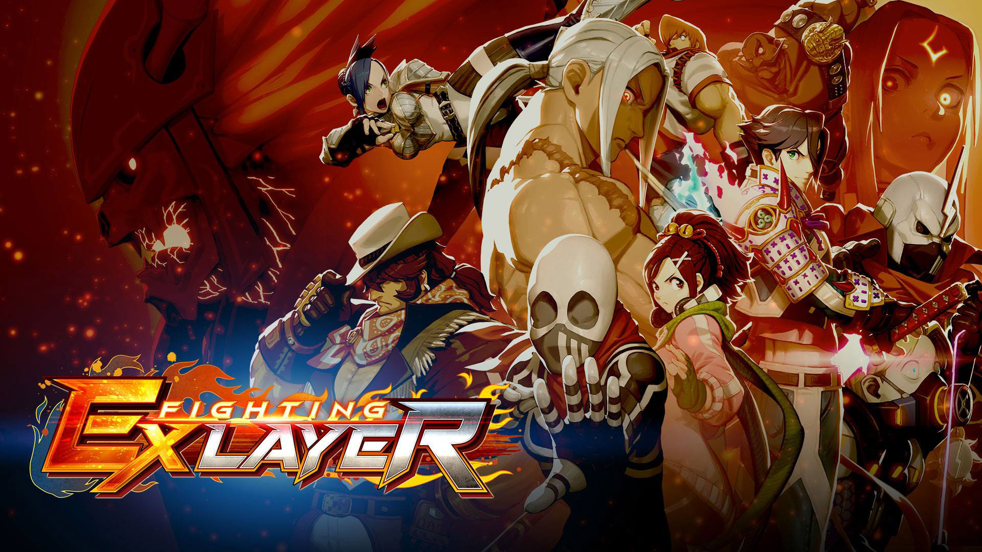 Free Fighting EX Layer Wallpaper in 1920x1080