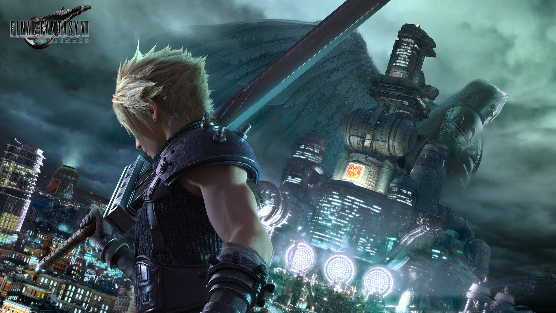 Free Final Fantasy VII Remake Wallpaper in 1920x1080