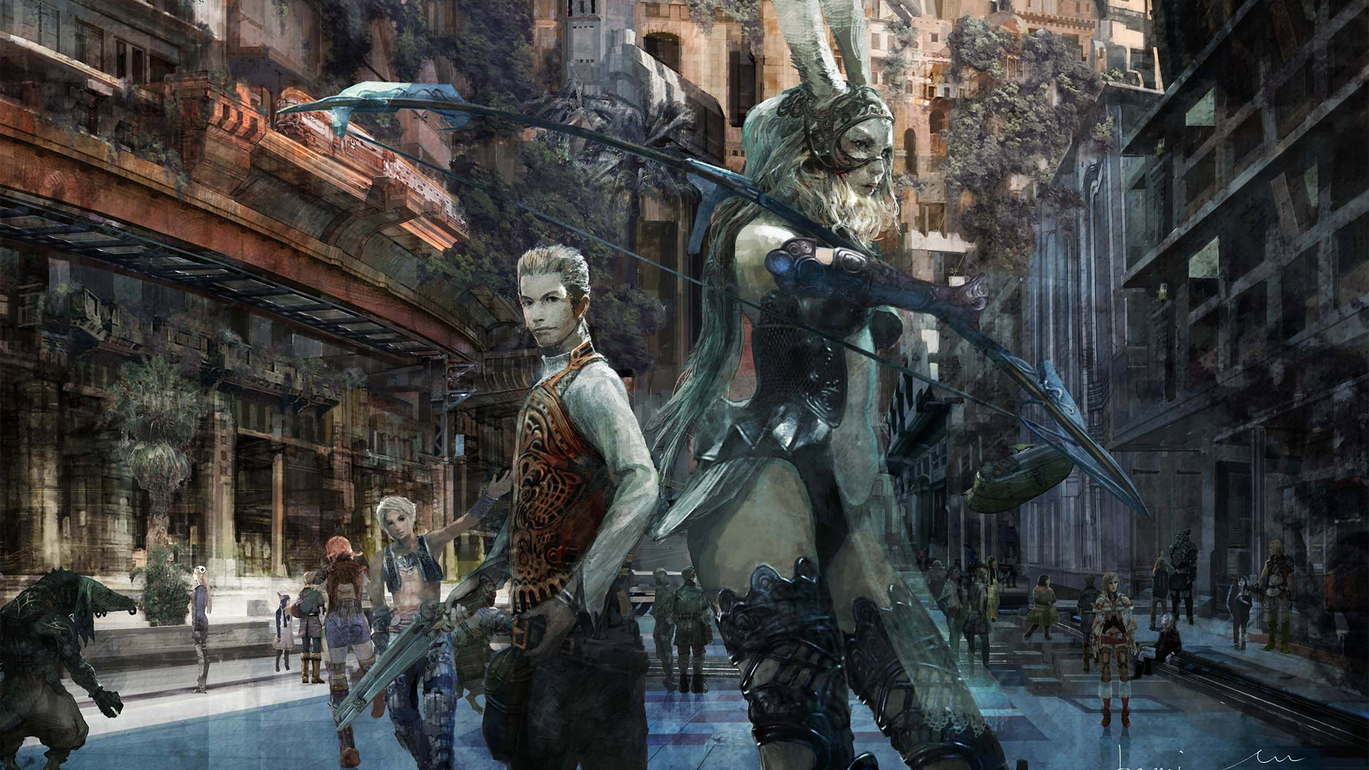 Free Final Fantasy XII Wallpaper in 1920x1080
