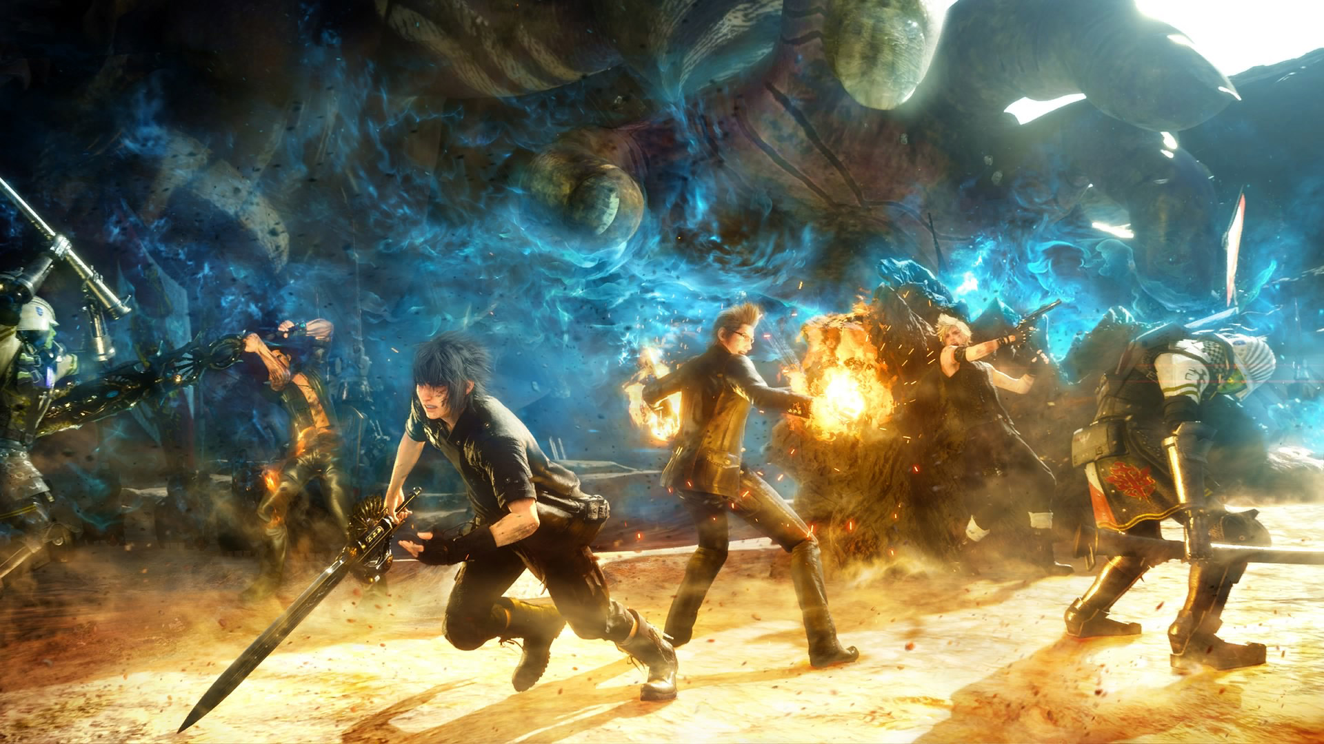 Final Fantasy XV Wallpaper in 1920x1080