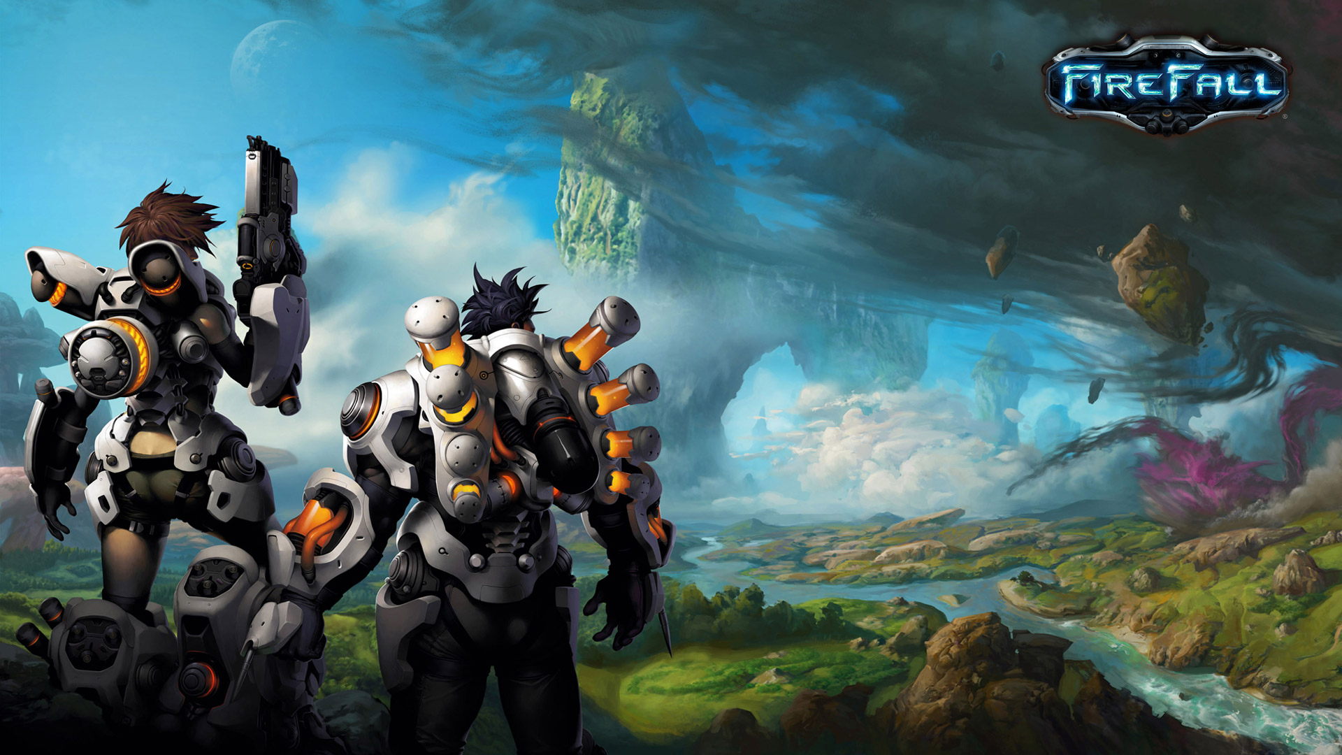 Free Firefall Wallpaper in 1920x1080