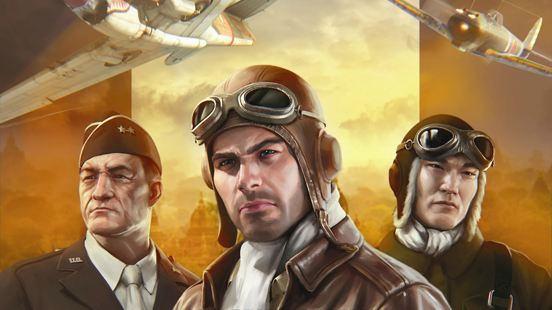 Free Flying Tigers: Shadows Over China Wallpaper in 1920x1080