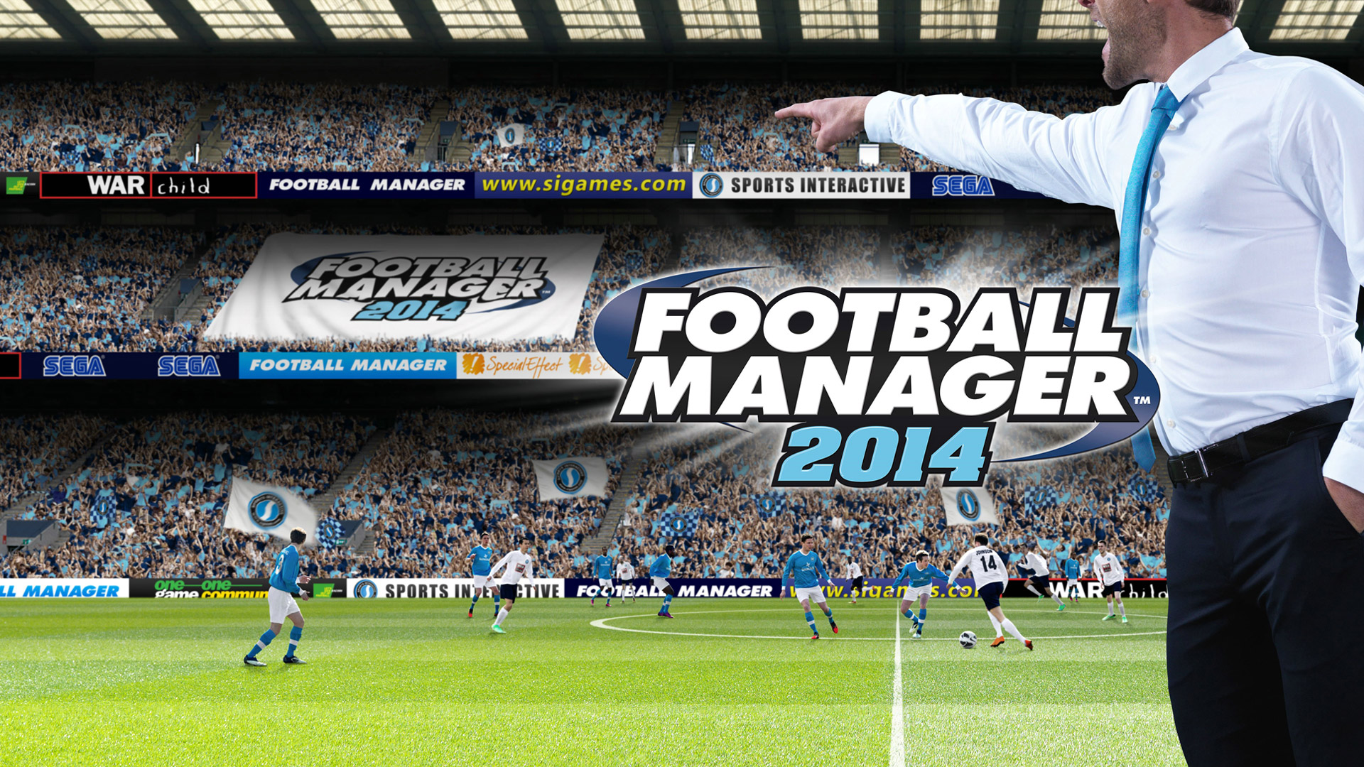 Free Football Manager 2014 Wallpaper in 1920x1080