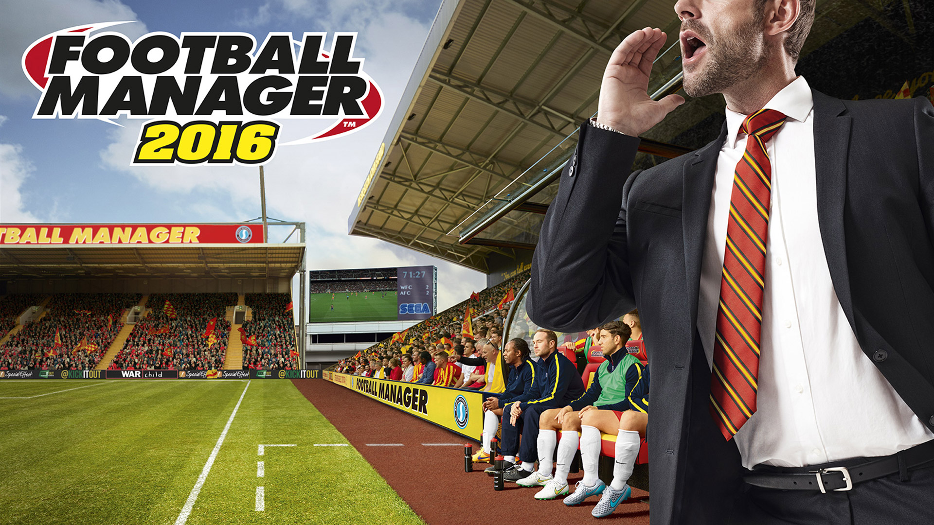 Free Football Manager 2016 Wallpaper in 1920x1080