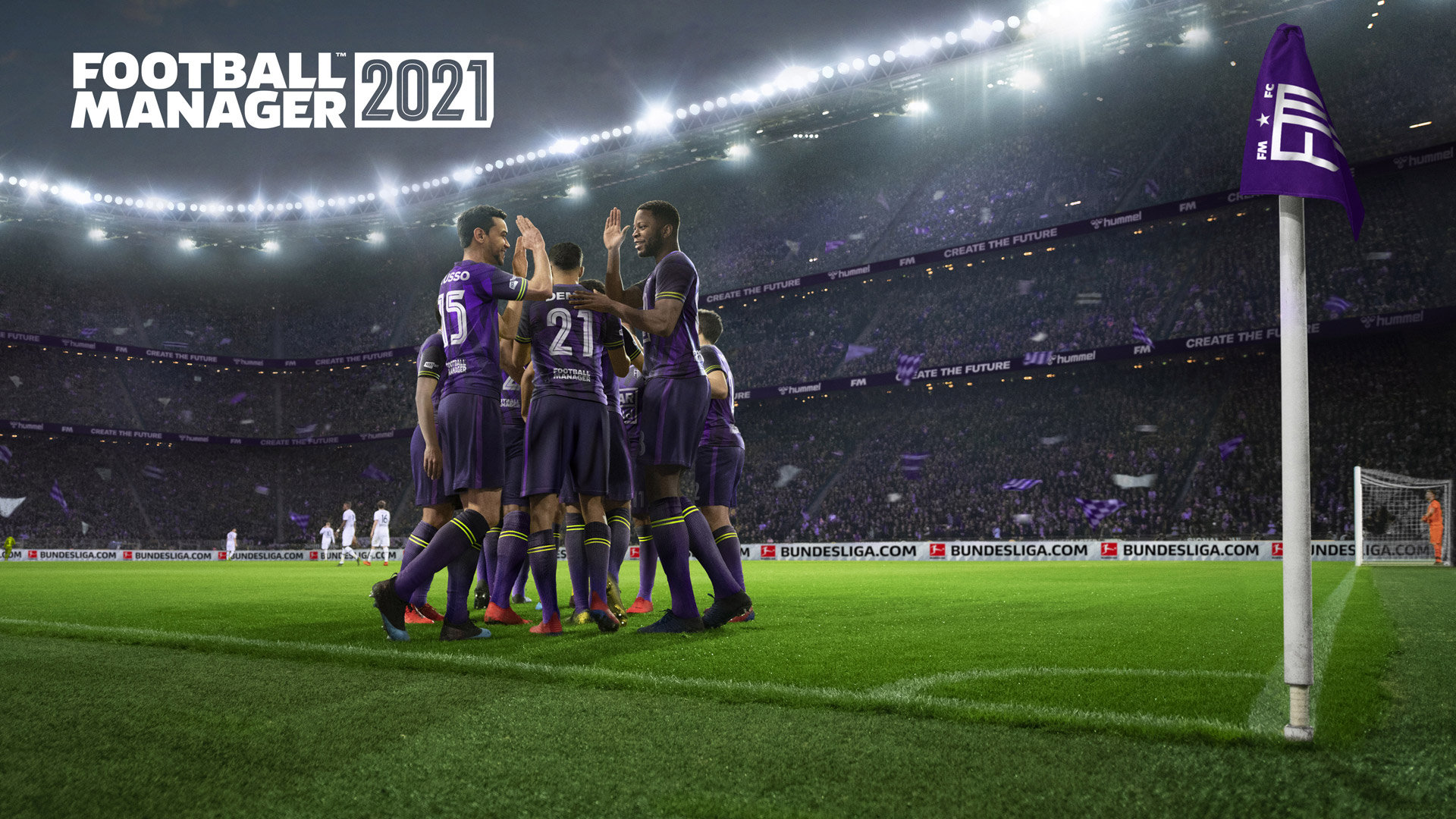 Free Football Manager 2021 Wallpaper in 1920x1080