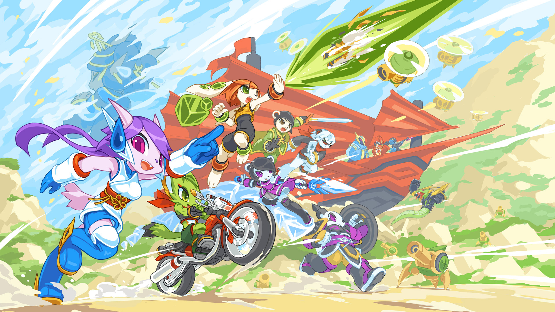 Free Freedom Planet 2 Wallpaper in 1920x1080