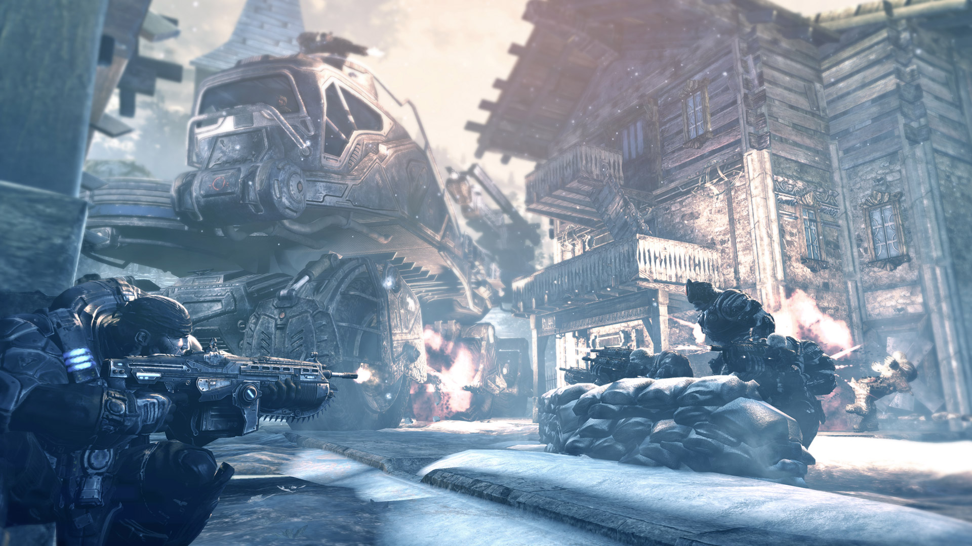 Gears of War 2 Wallpaper in 1920x1080