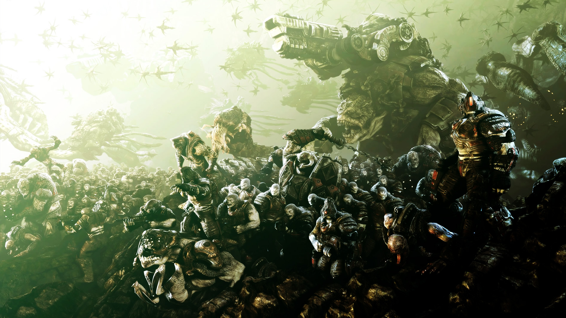 Gears of War 3 Wallpaper in 1920x1080