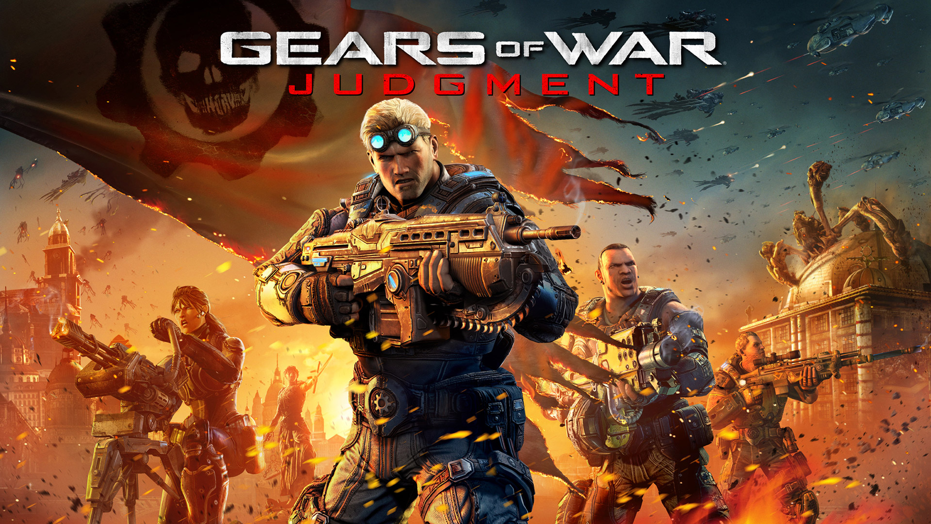 Gears of War: Judgment Wallpaper in 1920x1080