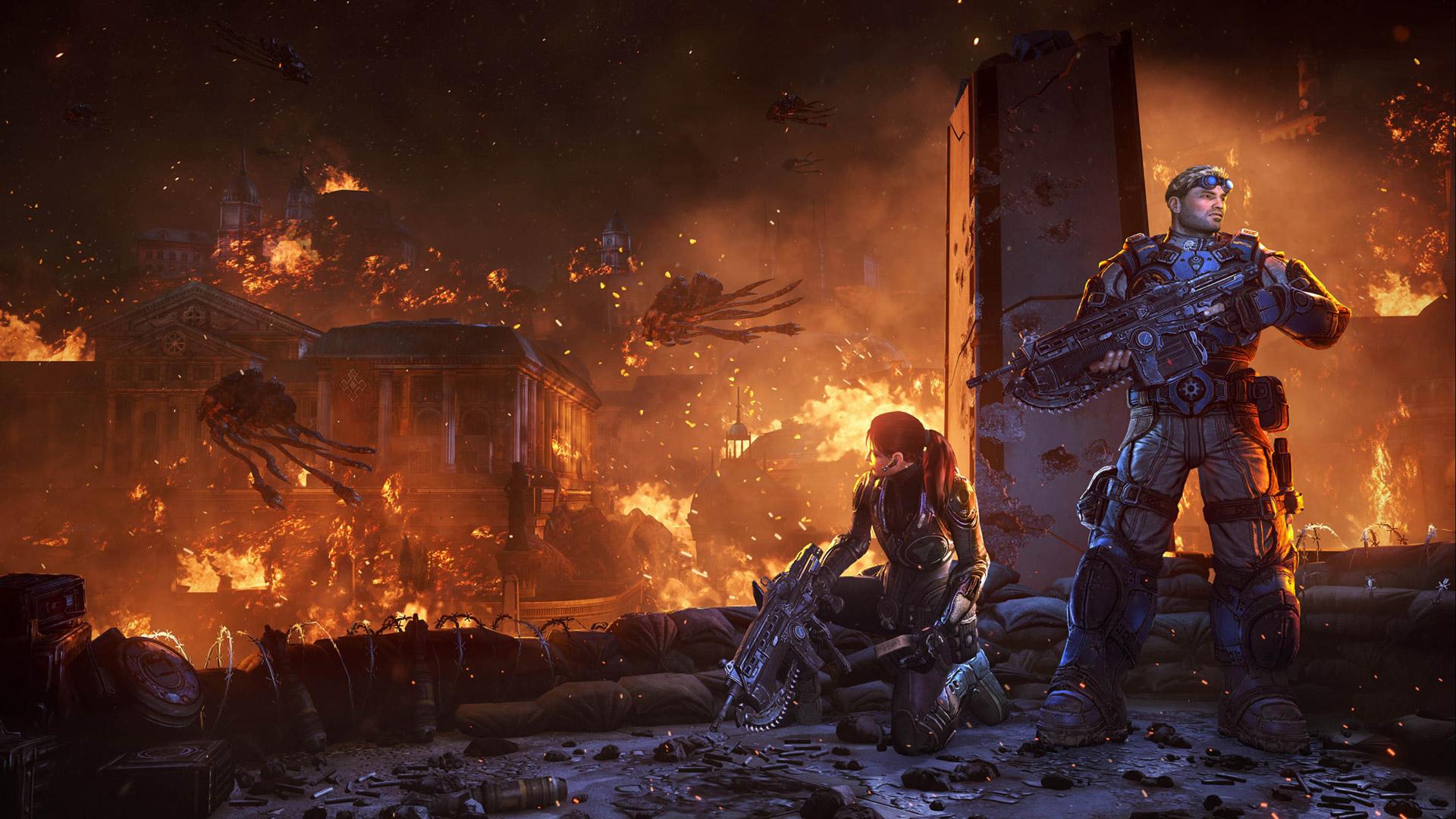 Gears of War: Judgment Wallpaper in 1920x1080