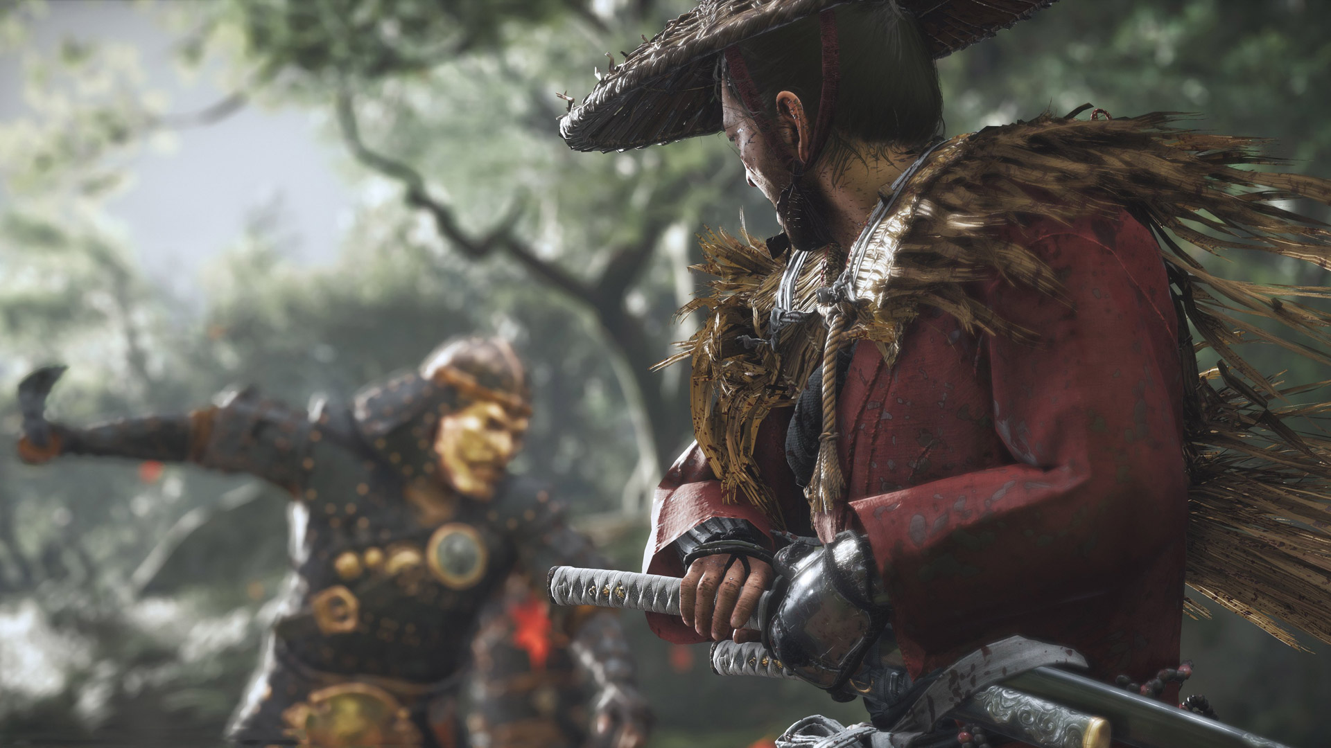 Free Ghost of Tsushima Wallpaper in 1920x1080