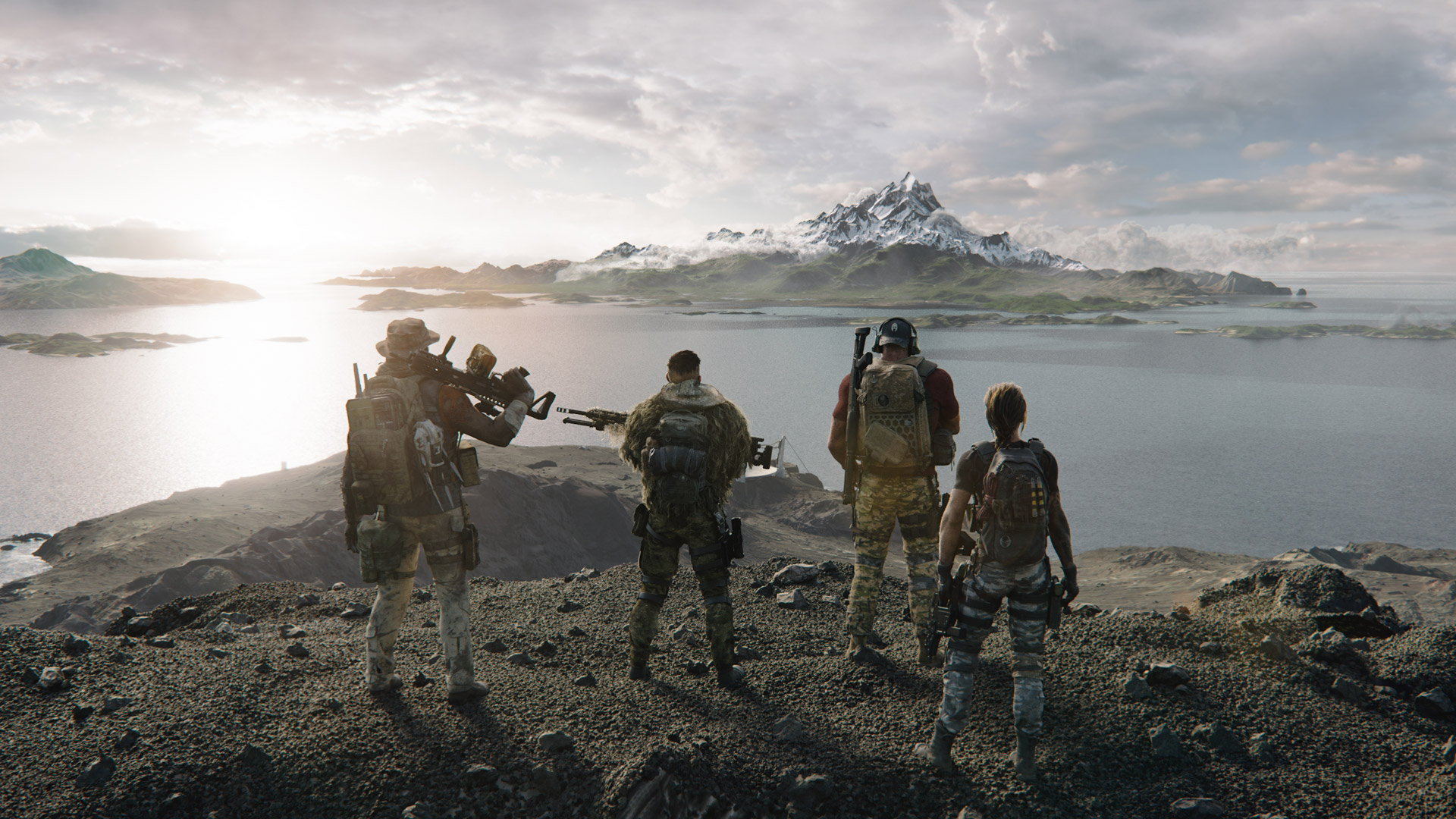 Free Ghost Recon Breakpoint Wallpaper in 1920x1080