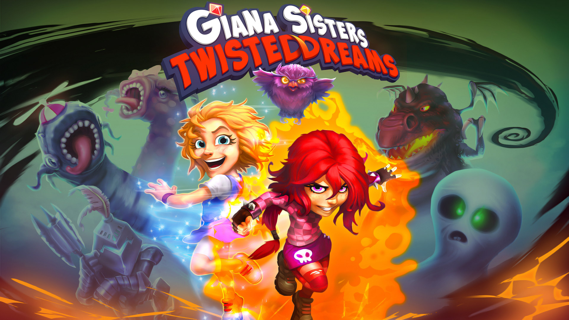 Giana Sisters: Twisted Dreams Wallpaper in 1920x1080