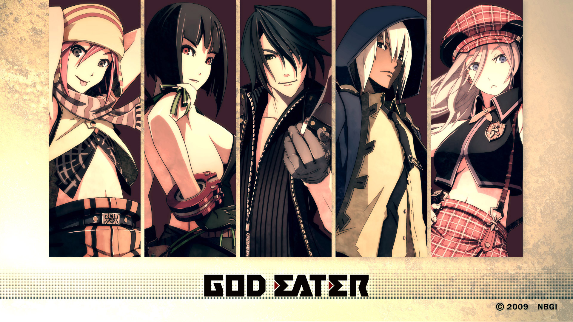 Free God Eater Wallpaper in 1920x1080