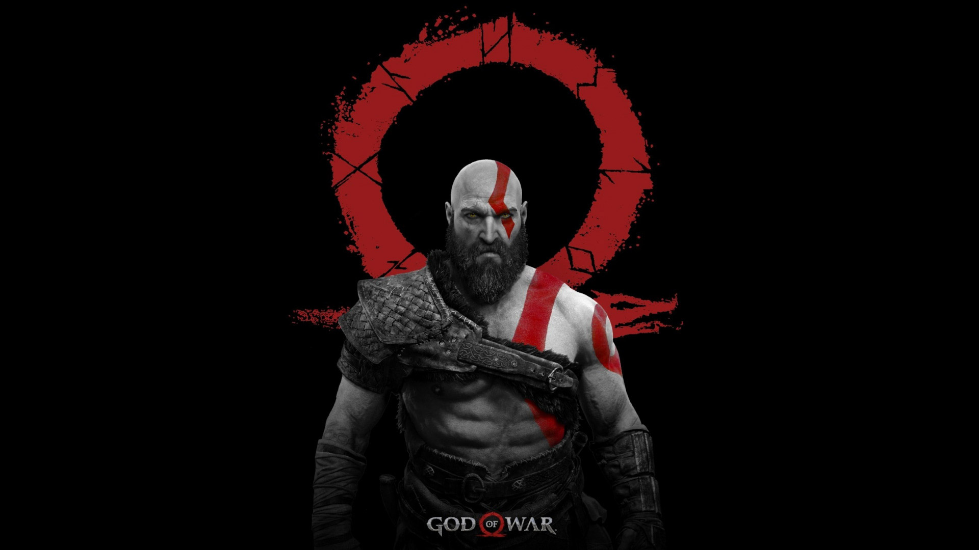 Free God of War (2018) Wallpaper in 1920x1080